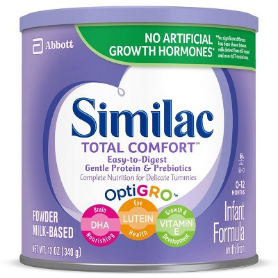 Similac Total Comfort Infant Formula Powder with Iron - 12oz