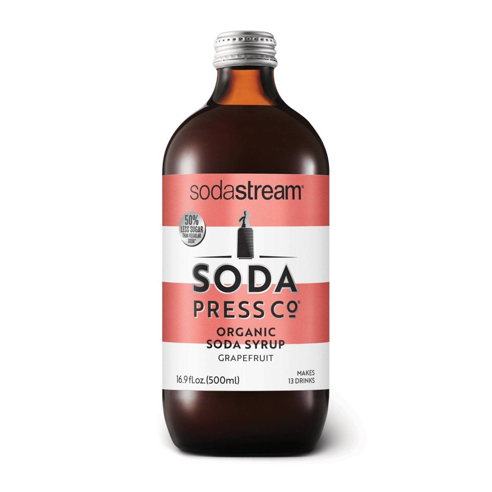 Image of Soda Press Pink Grapefruit Drink Mix