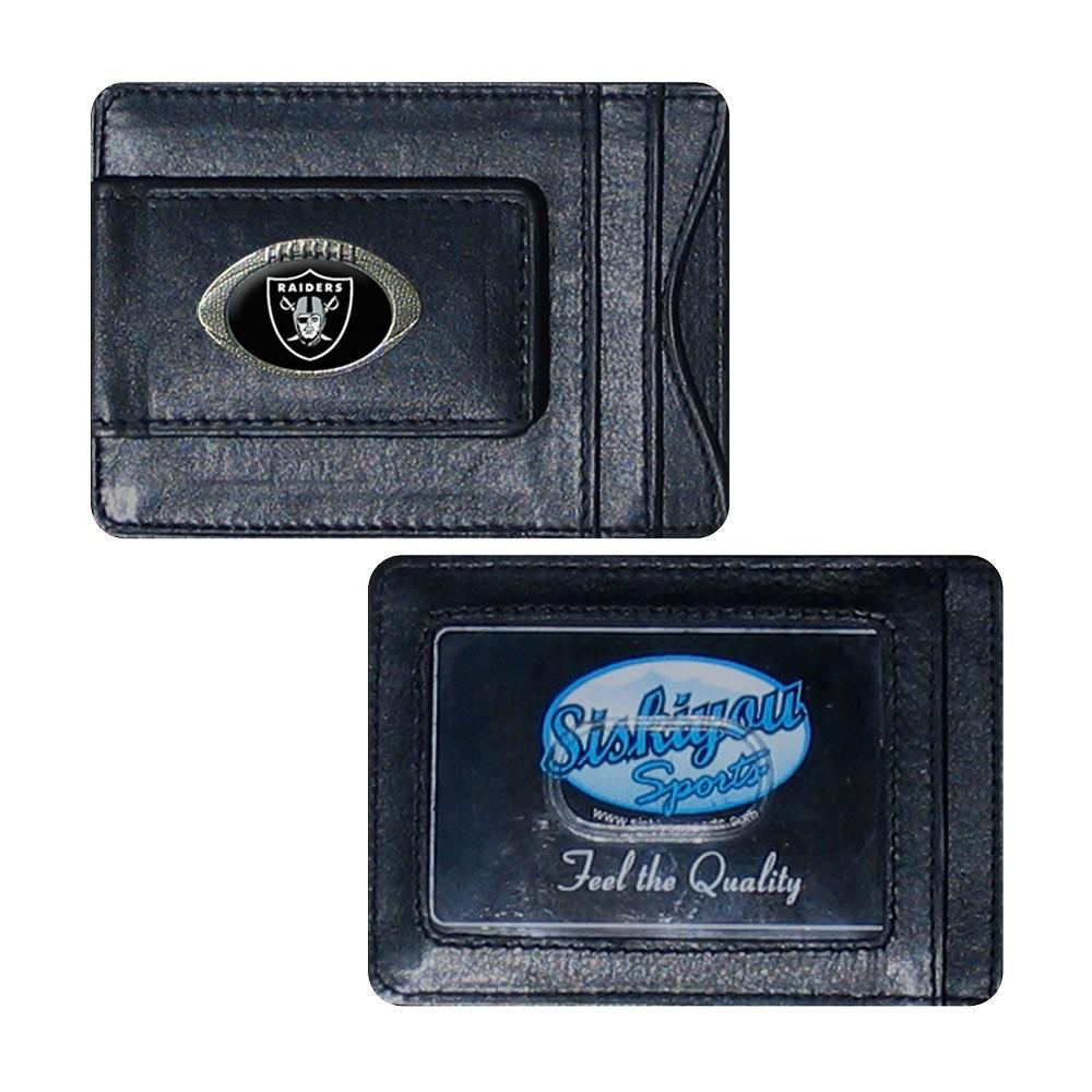NFL Oakland Raiders Siskiyou Cardholder Wallet, Boy's NFL Oakland Raiders Siskiyou Cardholder Wallet Gender: Male. Age Group: Kids. Pattern: Team logo.