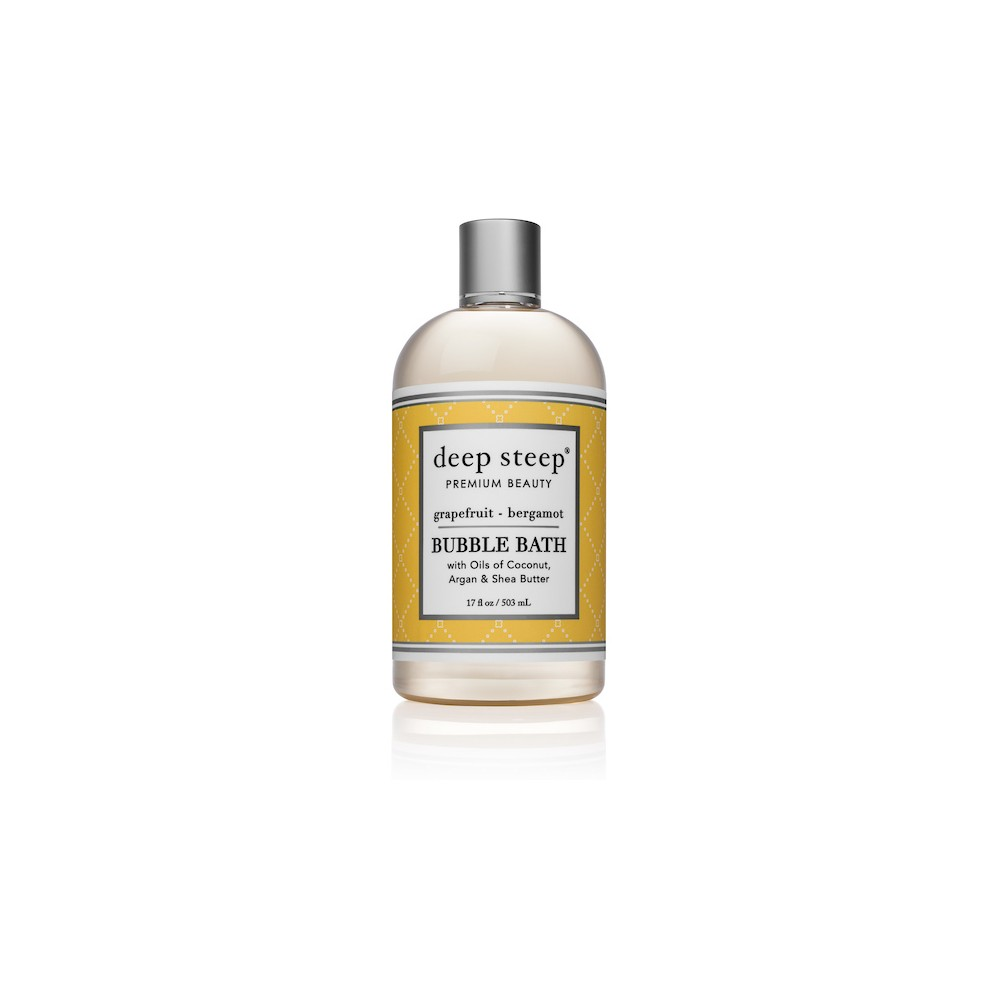 Image of Deep Steep Grapefruit & Bergamot Bubble Bath - 17oz