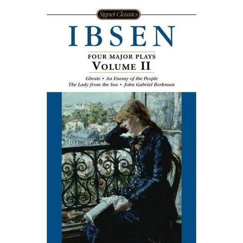 Four Major Plays, Volume II - (Signet Classics) by  Henrik Ibsen (Paperback) - image 1 of 1