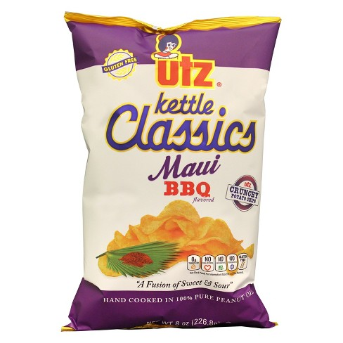 Utz Kettle Classics Maui BBQ Kettle Cooked Potato Chips - 8oz - image 1 of 1