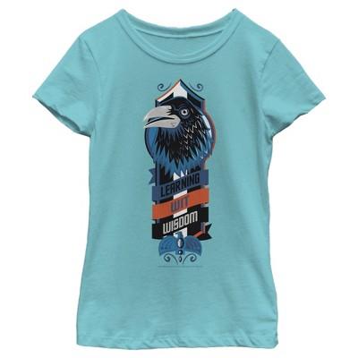 Girl's Harry Potter Ravenclaw Bird Emblem T-Shirt