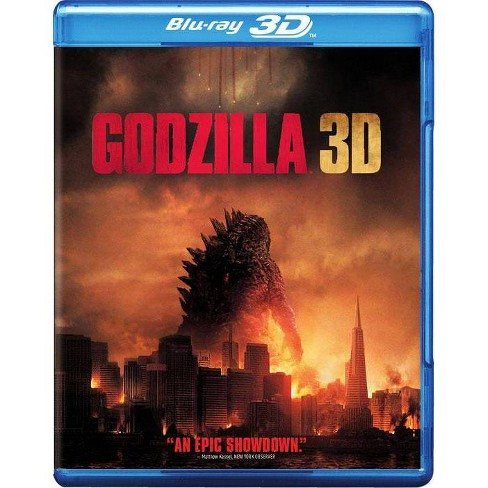 Godzilla 3D [Includes Digital Copy] [Ultraviolet] [3D/2D] [Blu-ray/DVD] - image 1 of 1