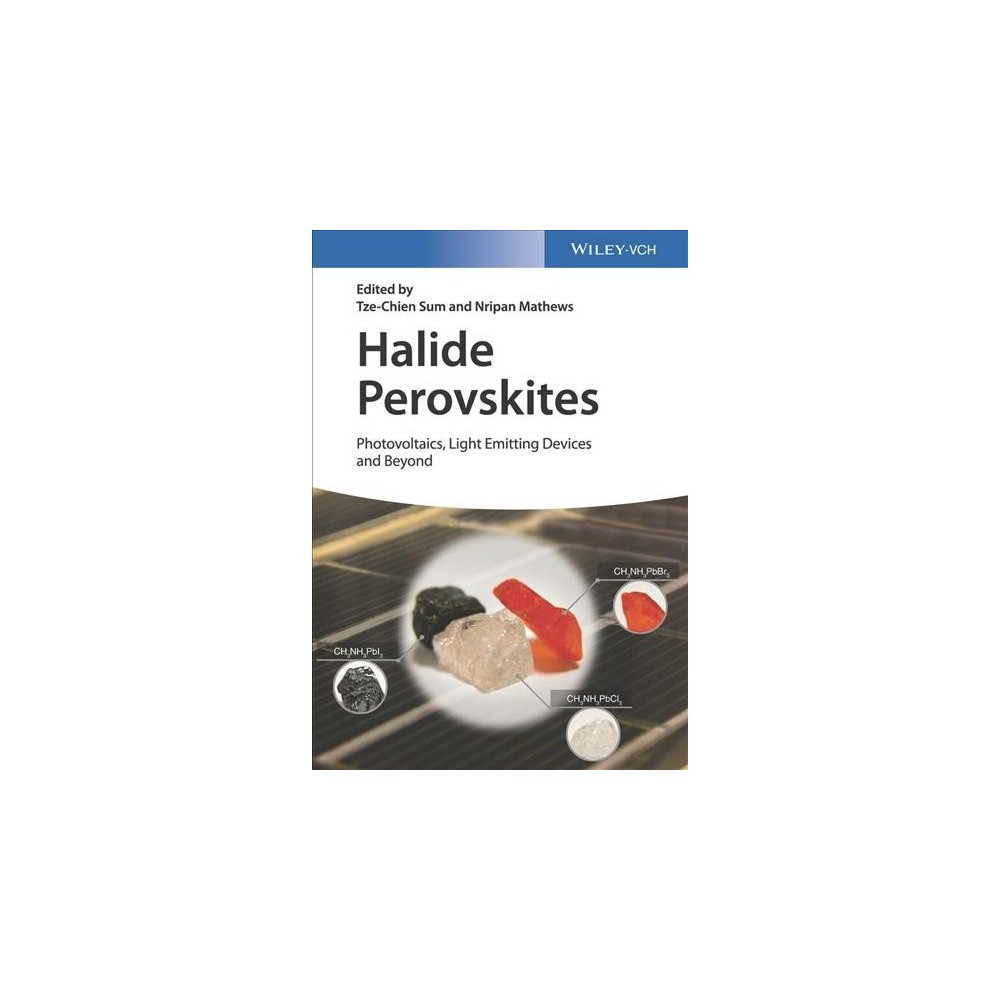 Halide Perovskites : Photovoltaics, Light Emitting Devices, and Beyond - (Hardcover)