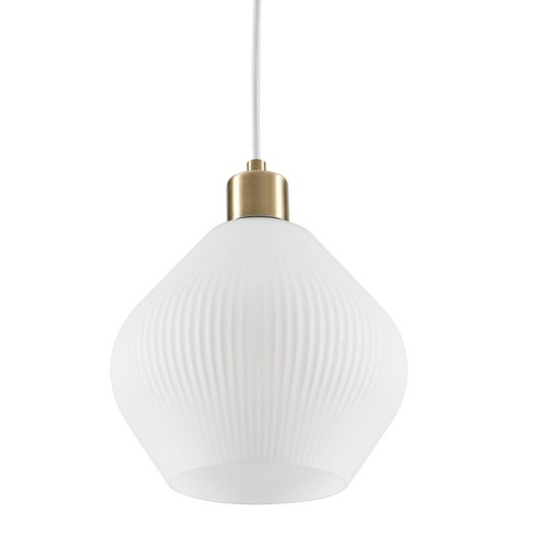 Modern Pendant Lamp White - Aiden Lane - image 1 of 4