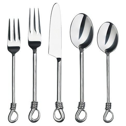 Gourmet Settings Twist Silverware Set - 20pc - image 1 of 1