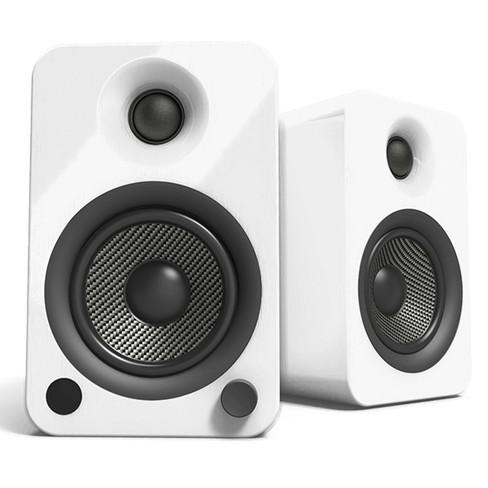 Kanto YU4 Powered Bookshelf Speakers with Built-In Bluetooth - Pair - image 1 of 2