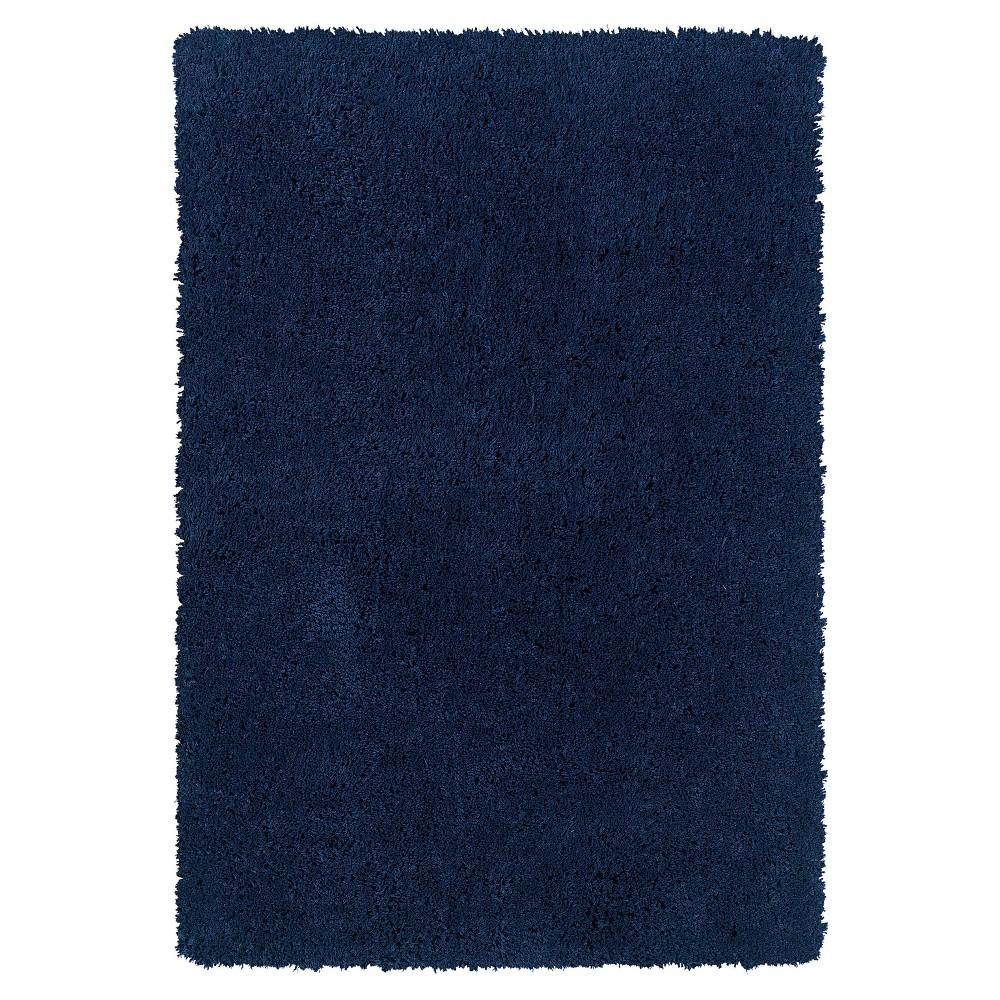 Image of Copenhagen Super Soft Area Rug - Navy (Blue) (8' X 10')