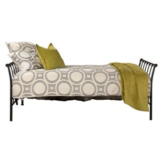 Midland Metal Backless Daybed Twin Black Sparkle - Hillsdale Furniture