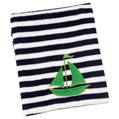 Sadie & Scout® - Hampton - Sailboat Baby Blanket