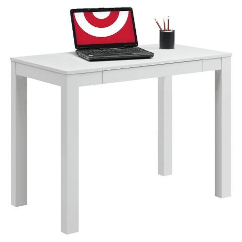 writing desk white ameriwood home target
