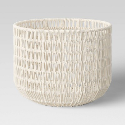 "18"" x 14"" Rope Basket Cream - Project 62™"