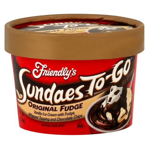Friendly's Fudge Sundae Cup - 6oz