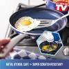 "Blue Diamond 10"" Ceramic Aluminum Frypan Blue - image 4 of 4"