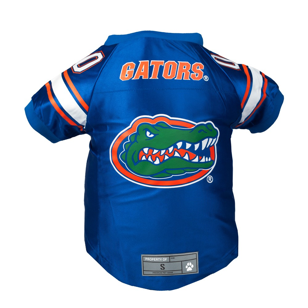 Florida Gators Little Earth Premium Pet Football Jersey - XS