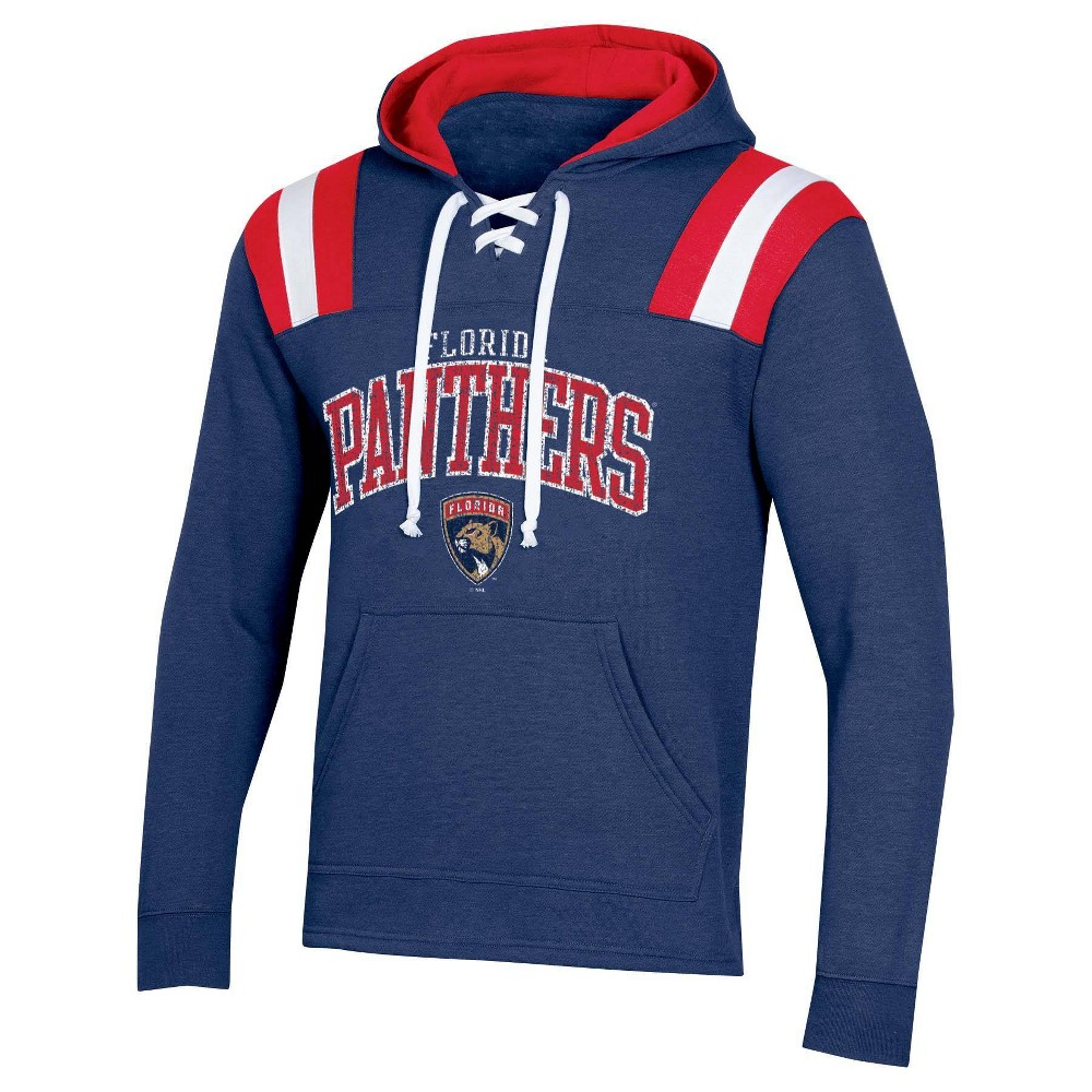 Nhl Florida Panthers Men 39 S Hat Trick Laced Hoodie S