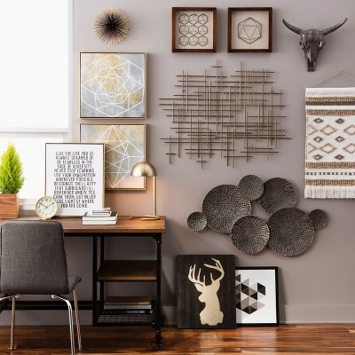 Black & Gold Wall Décor Collection