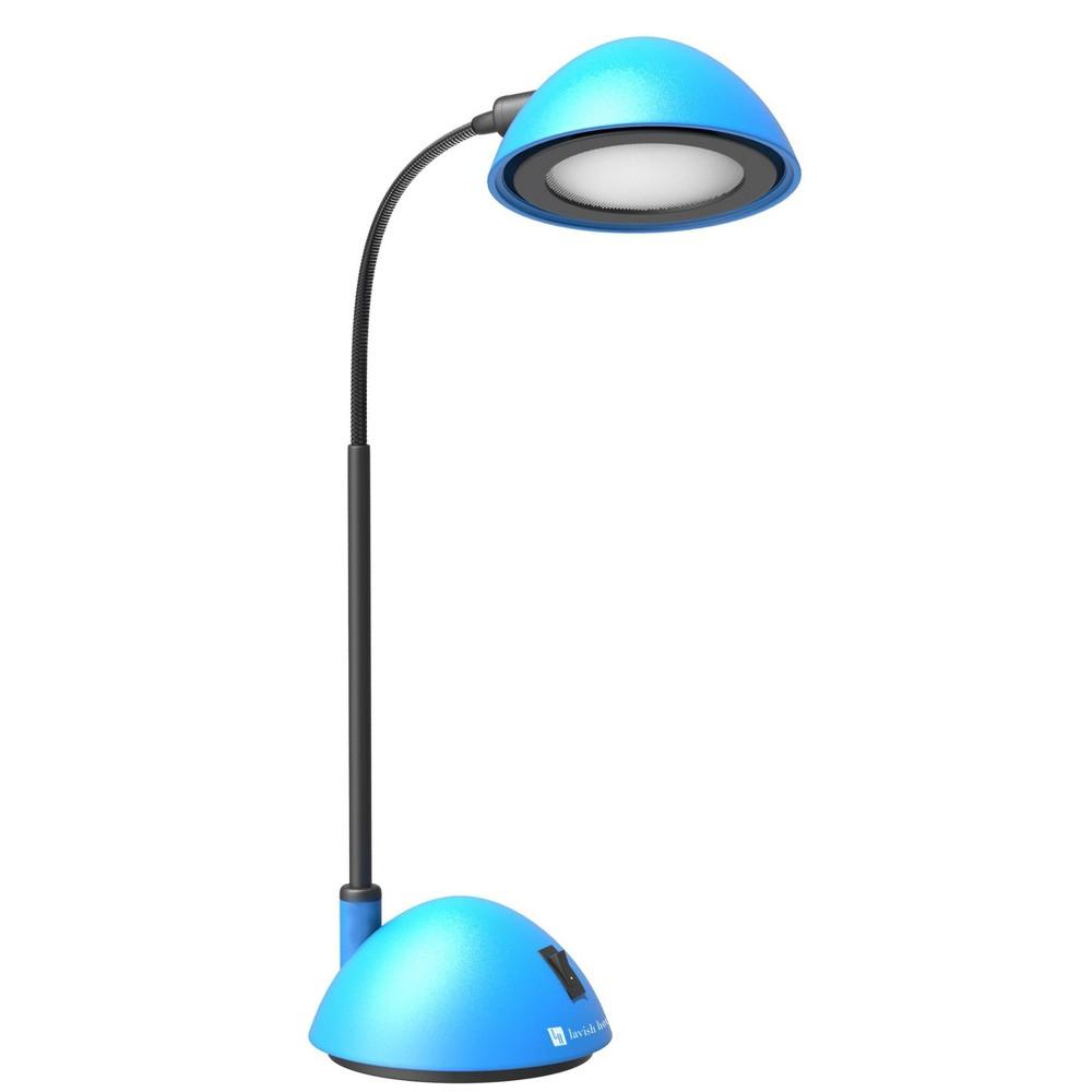 Image of Bright Energy Saving Led Desk Lamp Blue by Lavish Home