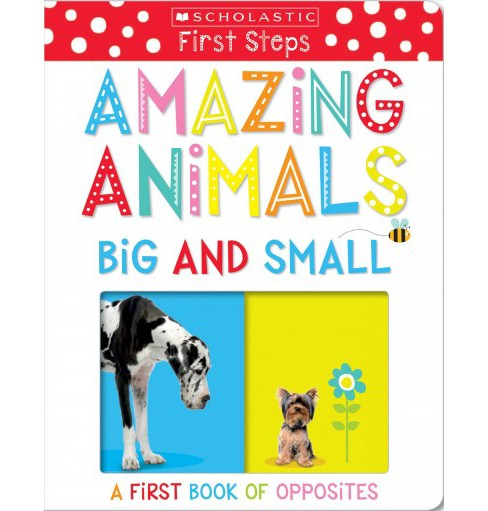 Amazing Animals Big and Small : A First Book of Opposites -  (Hardcover) - image 1 of 1