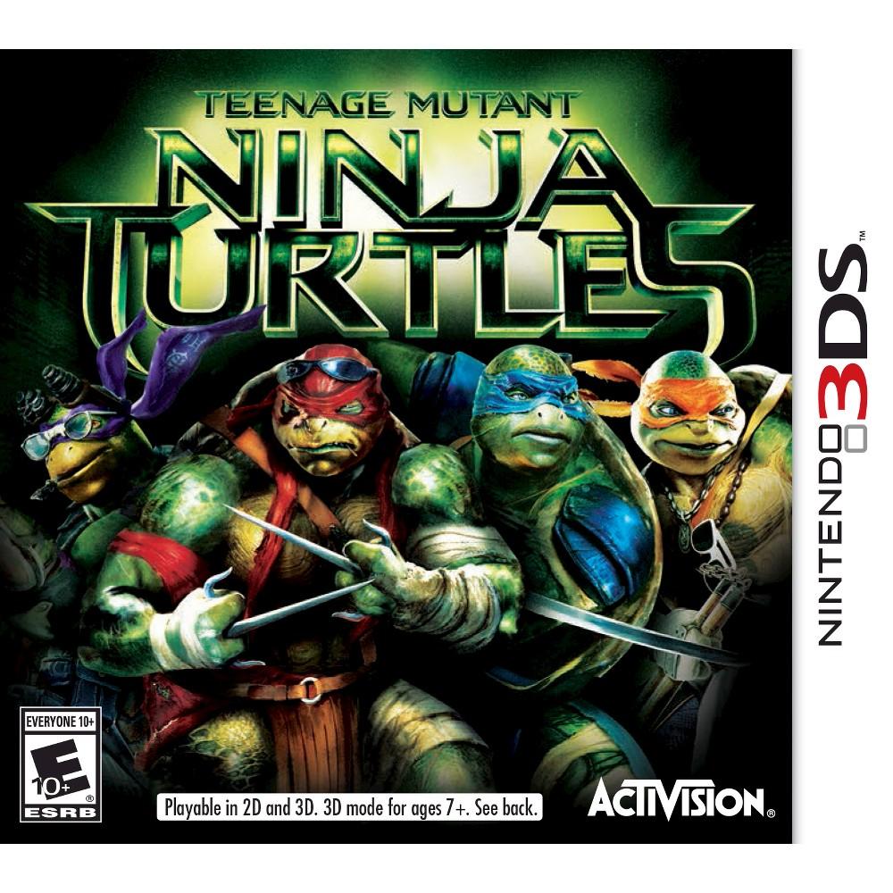 Teenage Mutant Ninja Turtles Nintendo 3DS