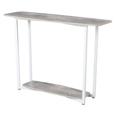 Graystone Console Table Gray/White - Johar