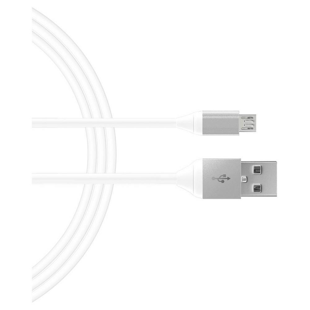 Micro Usb 6 Charging Cable Metallic Light Gray