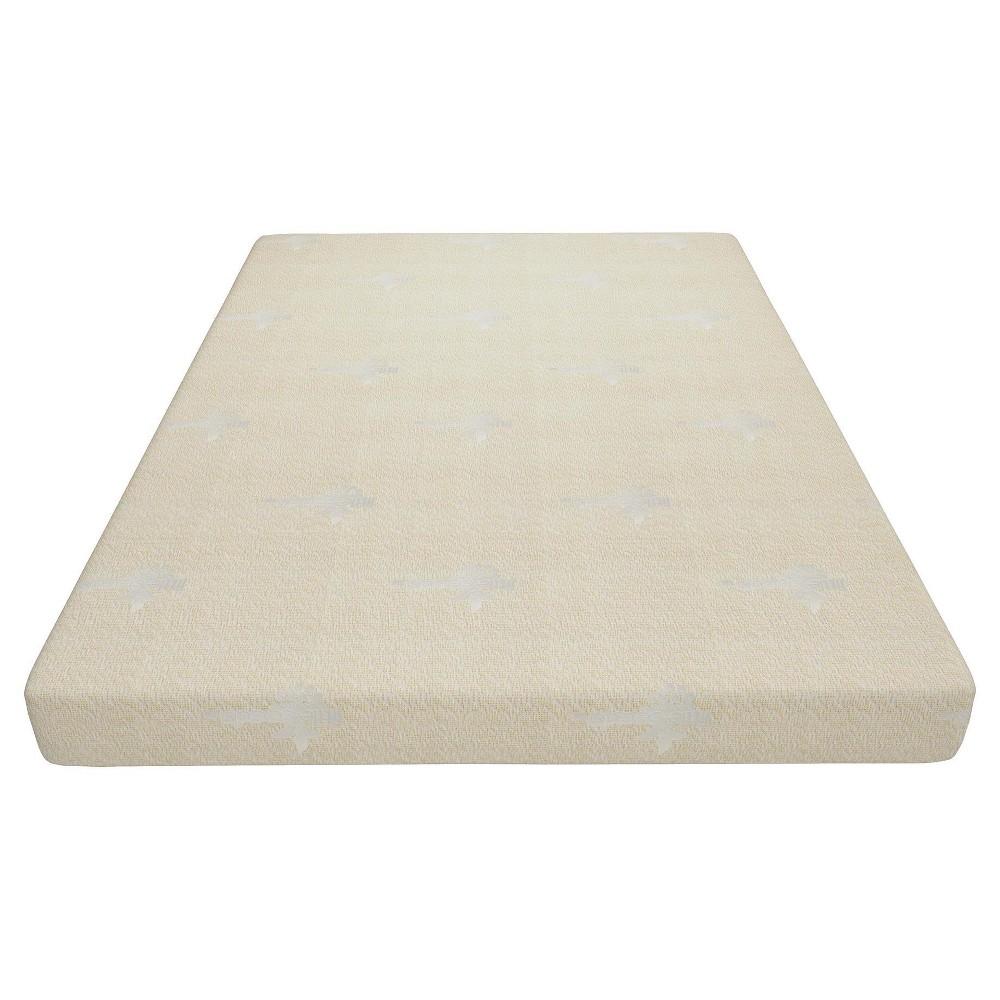 Foam Mattress Full White - Little Seeds