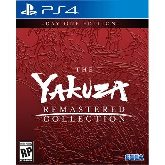 The Yakuza: Remastered Collection - PlayStation 4