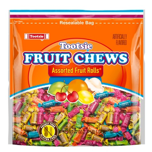 Tootsie Fruit Chew Assorted Fruit Rolls - 37oz - image 1 of 1