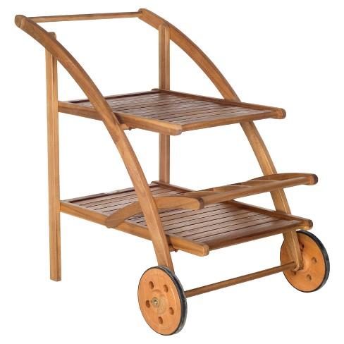 Lodi Tea Cart - Safavieh - image 1 of 4