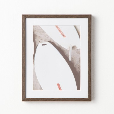 """16"""" x 20"""" Surfs Up Framed Under Glass - Threshold™ designed with Studio McGee"""