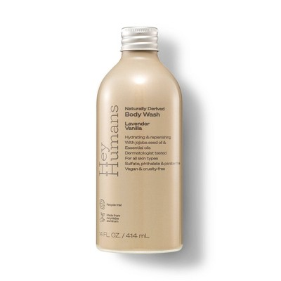 Hey Humans Body Wash Lavender Vanilla - 14 fl oz