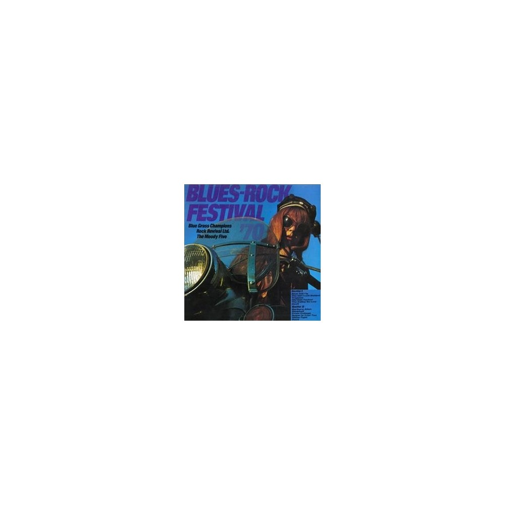 Various - Blues/Rock Festival/Beat Club Interna (CD)