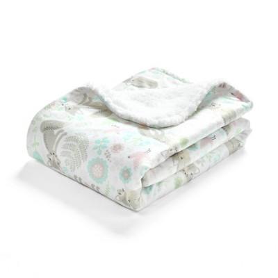 Lush Décor Pixie Fox Sherpa Blanket - Single