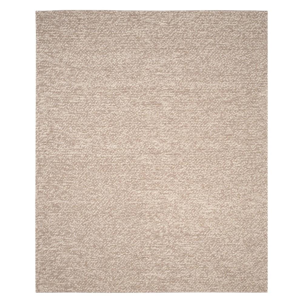 10'X14' Solid Woven Area Rug Beige - Safavieh