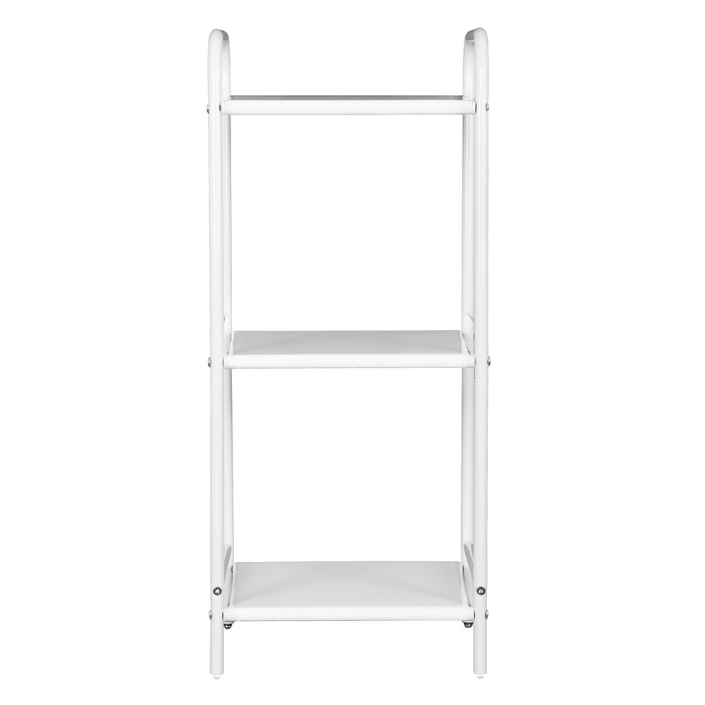 Image of 3 Shelf Utility Storage Cart White - Room Essentials