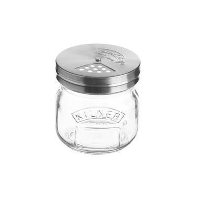 Kilner 8.5oz Storage Jar and Shaker Lid