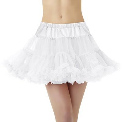 Adult Petticoat White Halloween Costume One Size