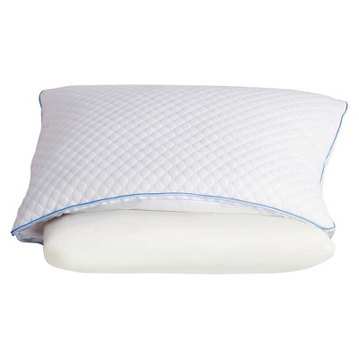 Sealy Half & Half Bed Pillow- White (Standard)