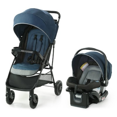 Graco NimbleLite Travel System with SnugRide Infant Car Seat