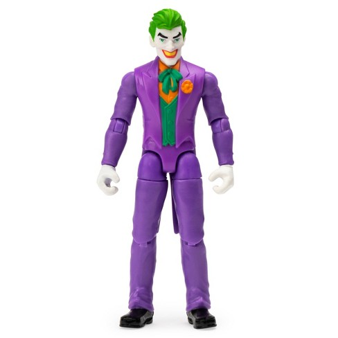"""DC Comics The Joker 4"""" Action Figure with 3 Mystery Accessories, Mission 1 - image 1 of 4"""