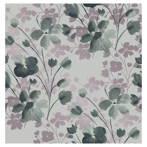 Devine Color Wildflower Peel Stick Wallpaper Target