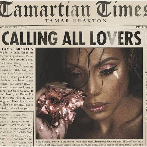 Tamar Braxton - Calling All Lovers (CD) - image 1 of 1