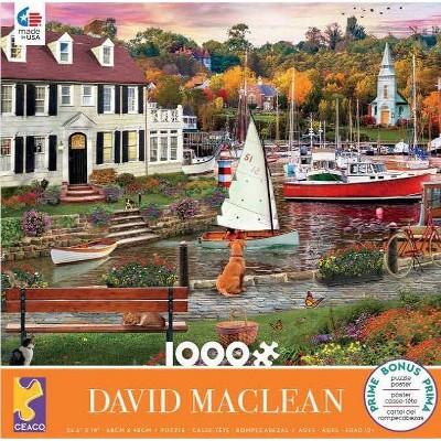 Ceaco Maclean: Seawall Walk Jigsaw Puzzle - 1000pc