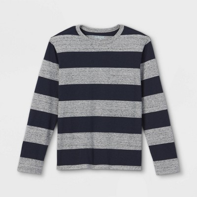 Boys' Rugby Striped Long Sleeve T-Shirt - Cat & Jack™