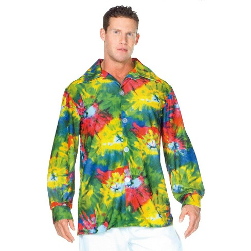 Men's 60's Tie Dye Shirt Costume - image 1 of 1