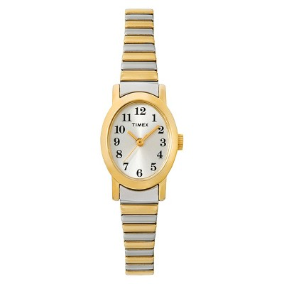 Women's Timex Cavatina Expansion Band Watch - Two-Tone T2M570JT