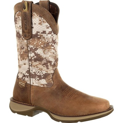 Men's Rebel by Durango Desert Camo Pull-on Western Boot