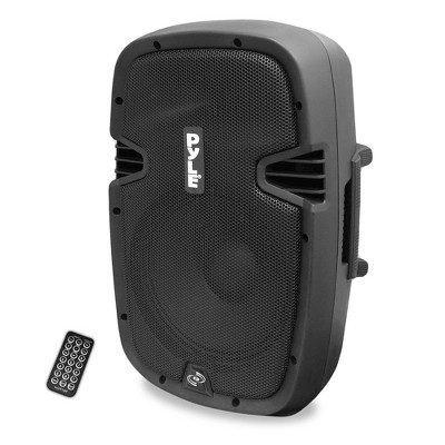 "PylePro 600W 8"" Bluetooth Powered Pro DJ PA Audio Speaker, Certified Refurbished"